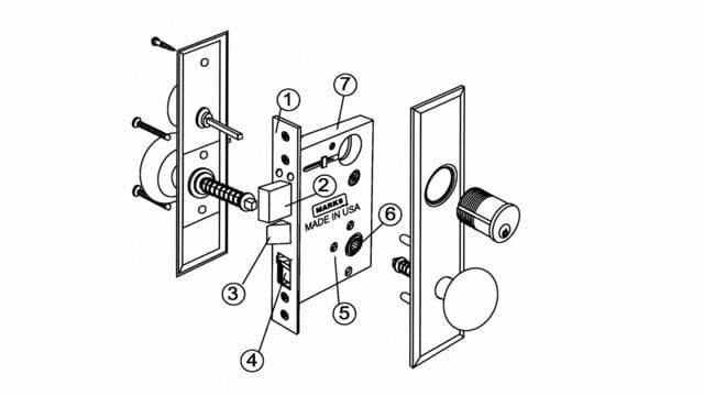 Mortise Lock Service Amp Repair Portland Oregon Or