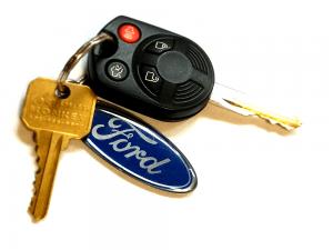 Ford Escape Remote Head Key