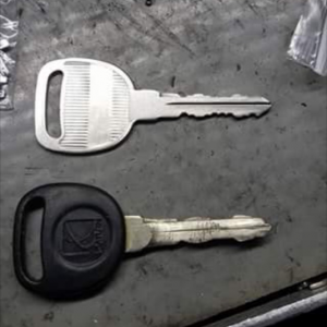 Remade A New key from a worn out