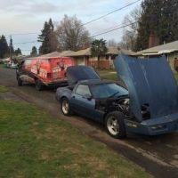 Unlocking car trunk Portland Oregon