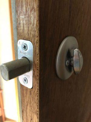 Home lock - deadbolt unlock