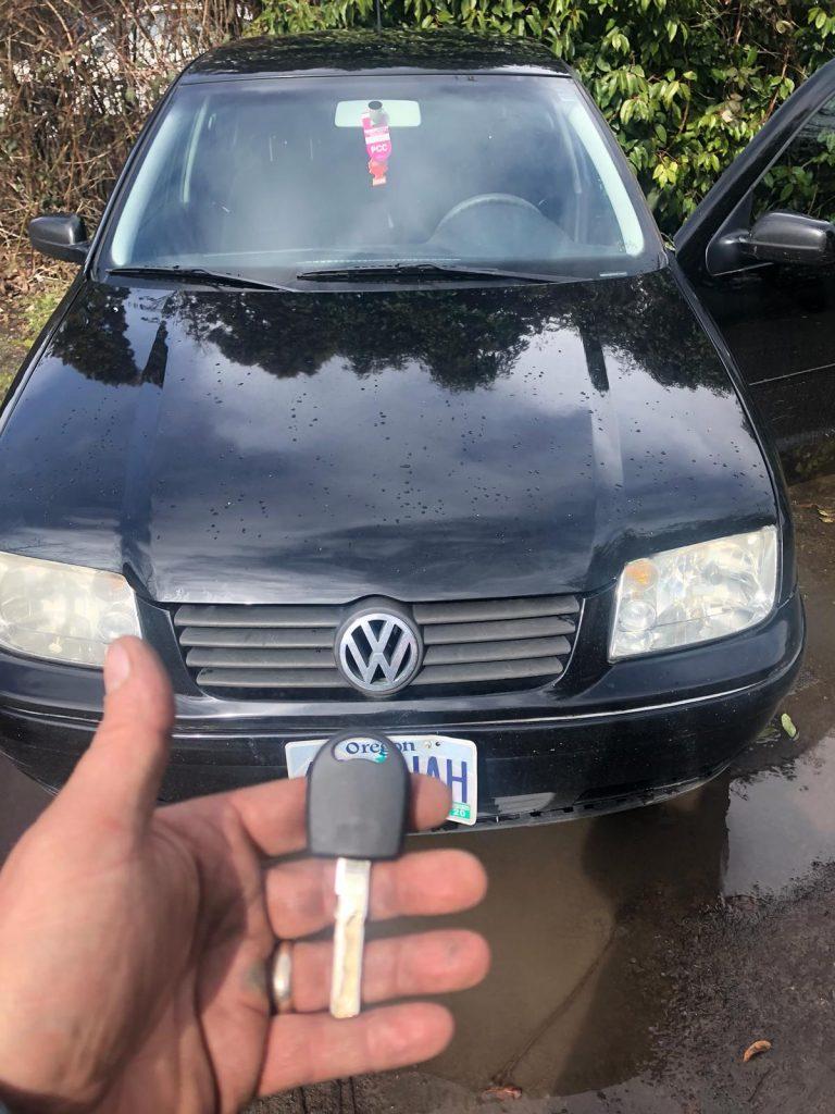 Volkswagen Jetta Key Portland Auto Locksmith