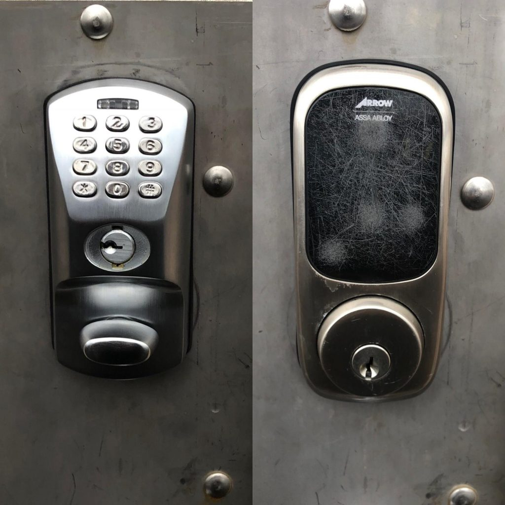 Electronic door locks- pros and cons