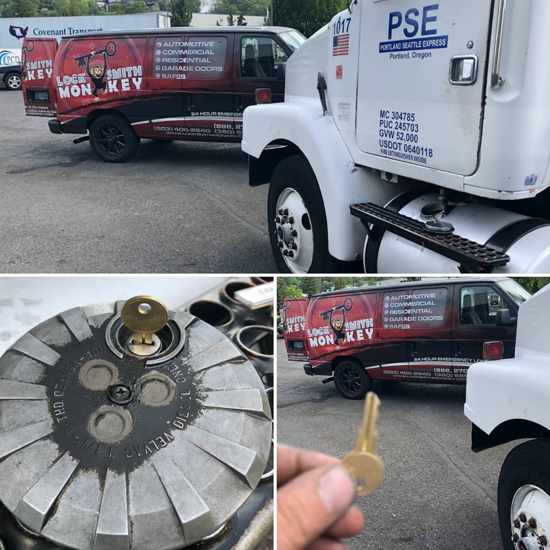 Big Truck and 18-Wheeler Lockout: How Locksmith Monkey is committed to keeping you on road without missing a beat